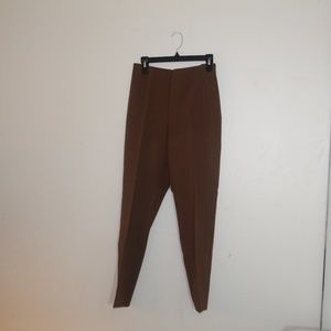 Chico's brown creased pants size 15 regular